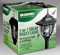 2 in 1 Solar Insect Light