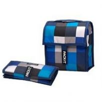 Lunch Bag- Boxy Blue