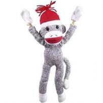 Flying Sock Monkey