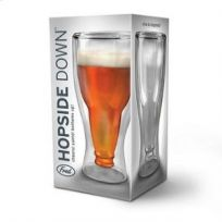 Hopside Down Glass