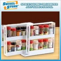 Swivel Store Spice Rack