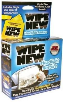 Wipe New Headlight
